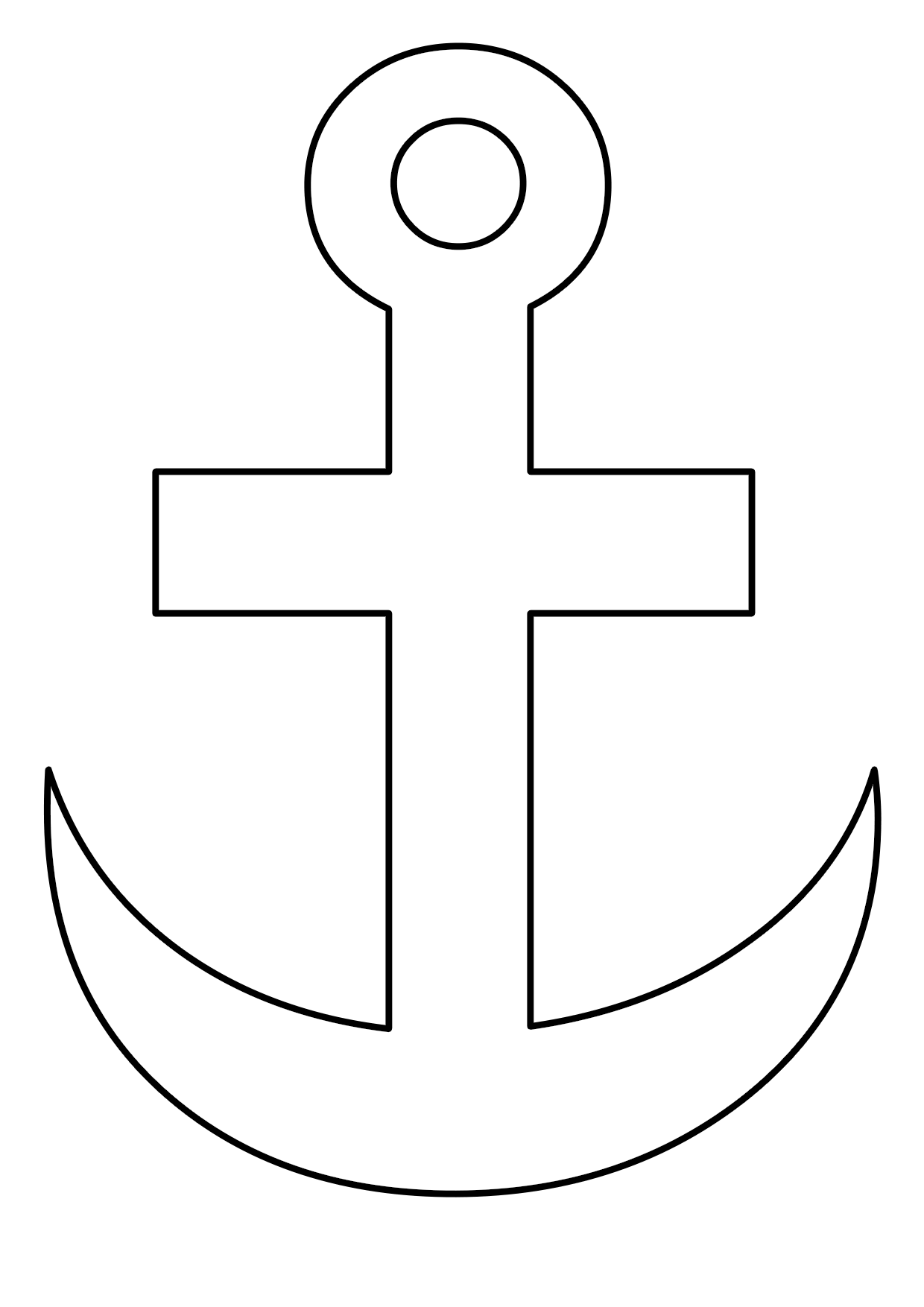 cruz marinera para pintar