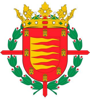 Cruz de San Fernando en el escudo de la ciudad de Valladolid