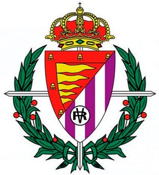 Cruz Laureada de San Fernando en el escudo del club de fútbol Real Valladolid