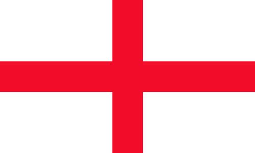 cruz de san jorge en la bandera de inglaterra