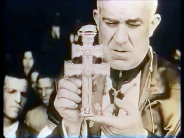 cruz de caravaca original en el año 1924