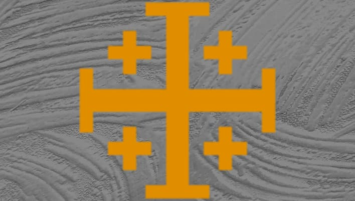 comprar colgante cruz de jerusalen